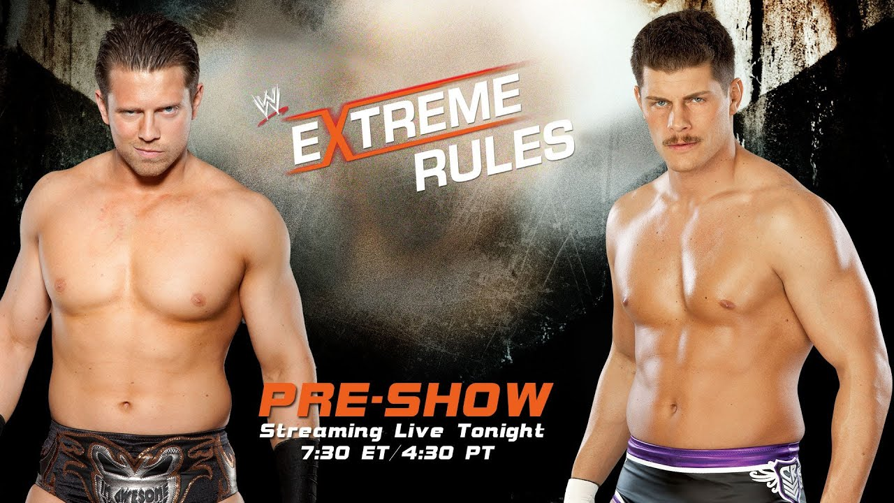 Wwe extreme rules 2013 pre show