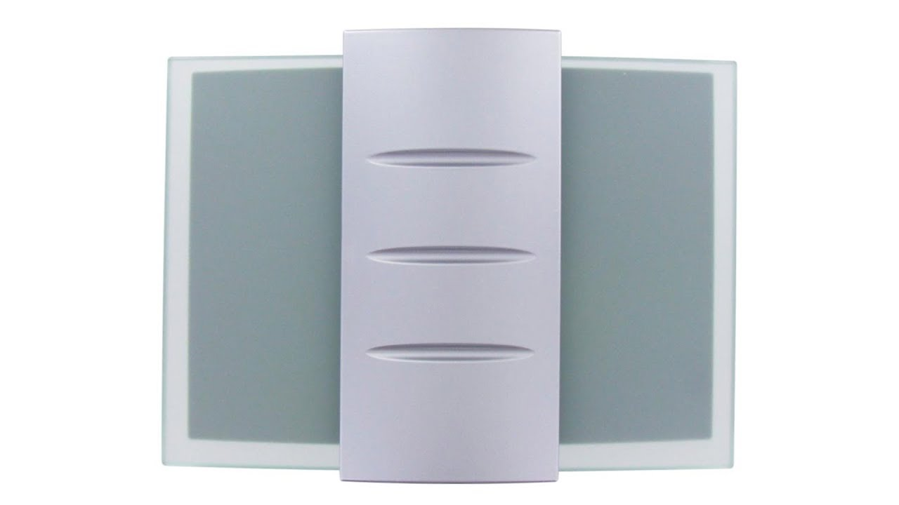 Honeywell Decor Wired Door Chime with Glass and Metal Design ...