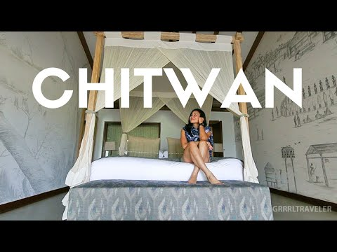 I DID NOT EXPECT THIS!  Meghauli Serai~ Taj Safari Lodge, Chitwan National Park