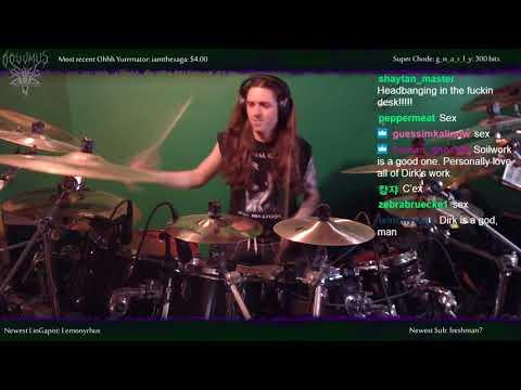 """Slayer - """"War Ensemble"""" - Drums"""