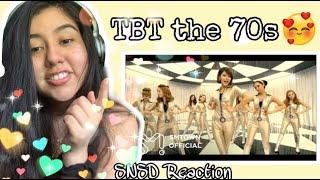 "Reacting to ""Girls' Generation 소녀시대 '훗 (Hoot)' MV"" ?"