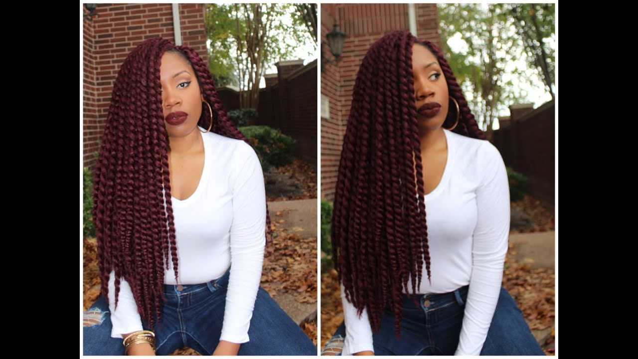 Pre Twisted Crochet Hair Styles : ... Install Crochet Senegalese Twist/Initial Review(Pre-Twisted) - YouTube