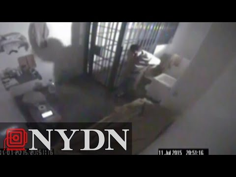 Joaquin 'El Chapo' Guzman's prison escape captured in video