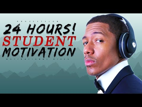 You Have 24 Hours In A Day – Student Motivation