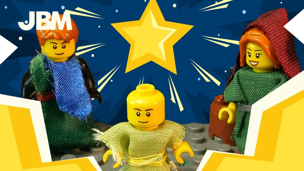 NATIVITY LEGO STORY with SUPERHEROES | LEGO STOPMOTION | DC | MARVEL |