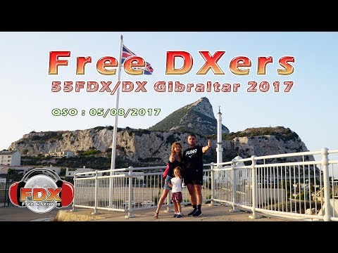 55FDX/DX Gibraltar - QSO made on 05/08/2017