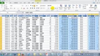 35.如何設定數值格式讓資料更容易閱讀 (Excel 2010 進階)