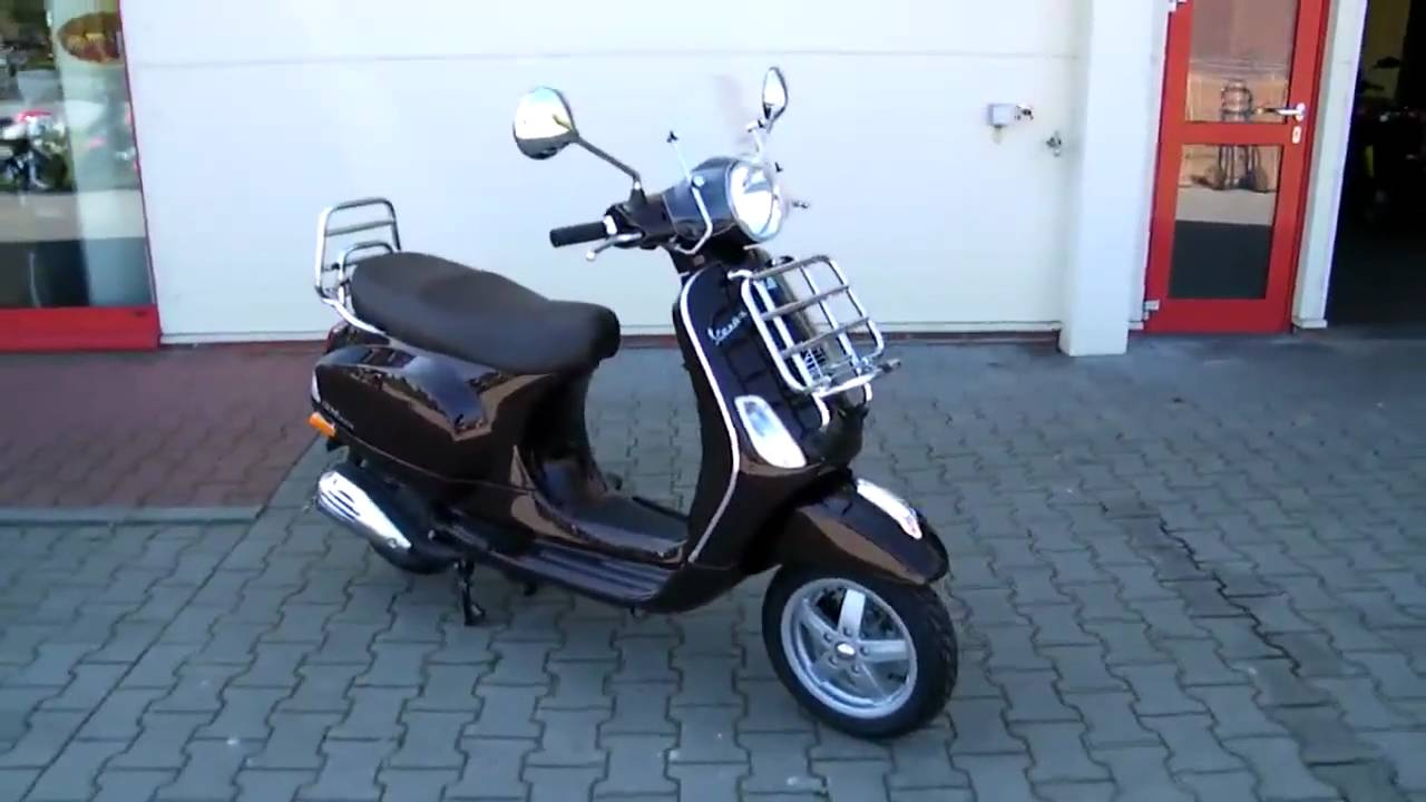 vespa lx 50 4t touring 2010 roller scooter youtube. Black Bedroom Furniture Sets. Home Design Ideas