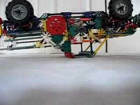Knex Suspension Pickup Truck Youtube