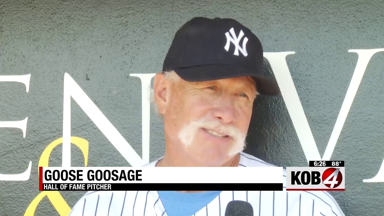 KOB Channel 4 news spot on Grassroots Baseball Route 66 Tour stop:  Albuquerque NM