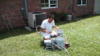 How To Clean Graco Ultra 395 Airless Paint Sprayer - Stuart Florida Painter Demonstrates