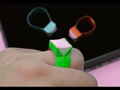 How to make a paper Ring?