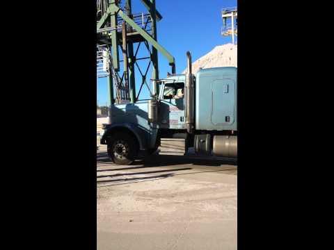Deaf trucker 18 wheeler