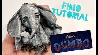 Dumbo - Disney Live Action - Tim Burton - Polymer Clay Fimo Tutorial