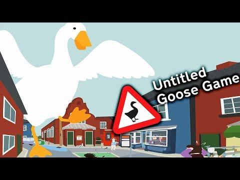 ГУСЬ ВРЕДИТЕЛЬ - ВОРУЕМ ЦВЕТЫ и ДЕЛАЕМ ПАКОСТИ! Симулятор Угарного Гуся / Untitled Goose Game