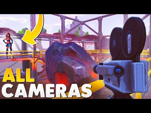 ALL 7 FORTNITE FILM CAMERAS | Fortnite Battle Royale