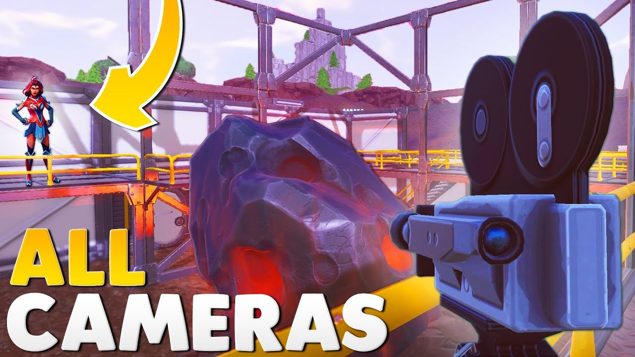 7 different cameras fortnite