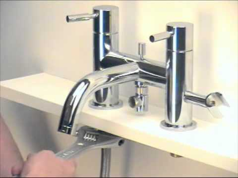 how to install a bath shower mixer tap bathstore user how to install a bath filler tap and bath shower mixer tap