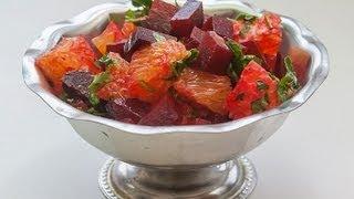 Салат с Апельсином «Bloody Orange» видео рецепт