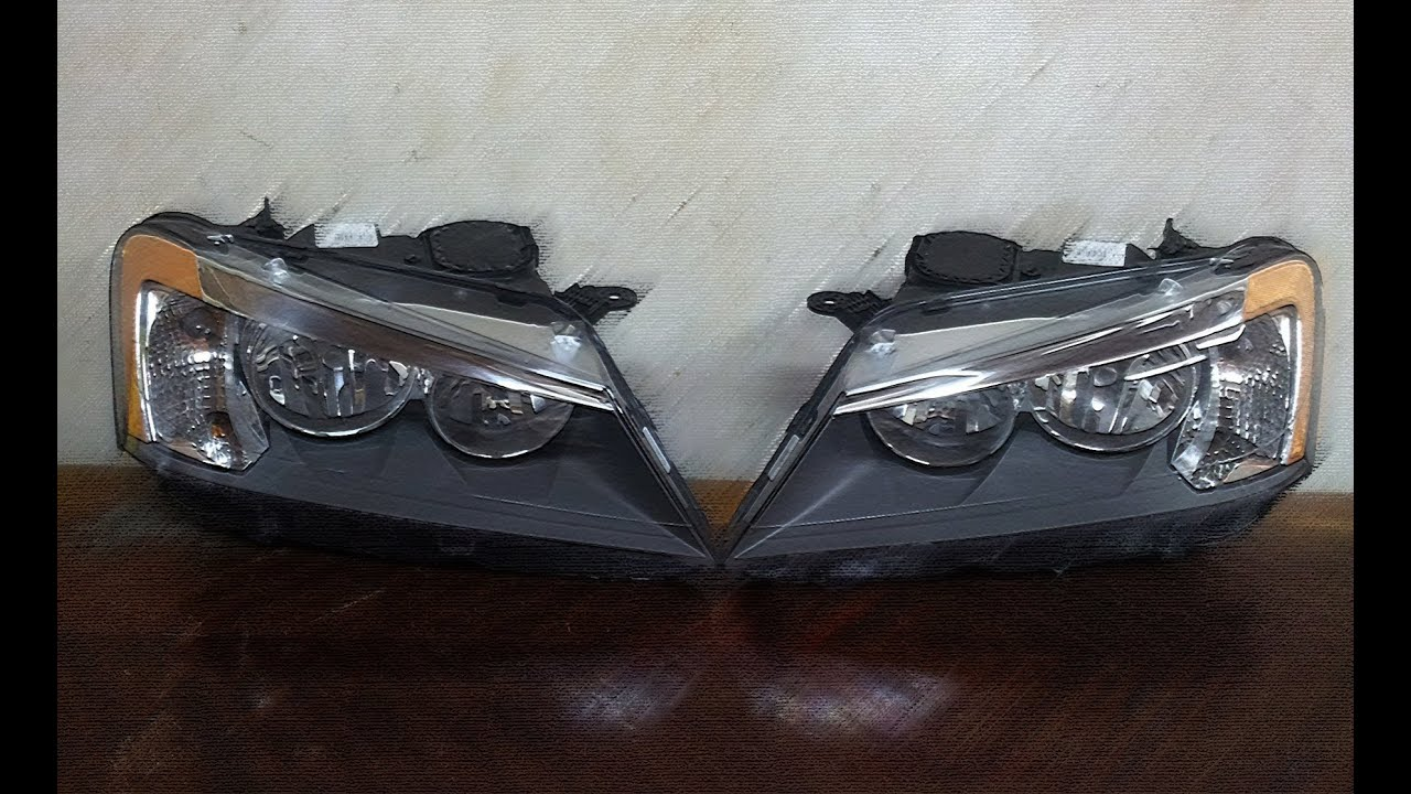 BMW X3 HEADLIGHTS