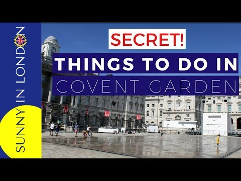 Things to Do in Covent Garden London England