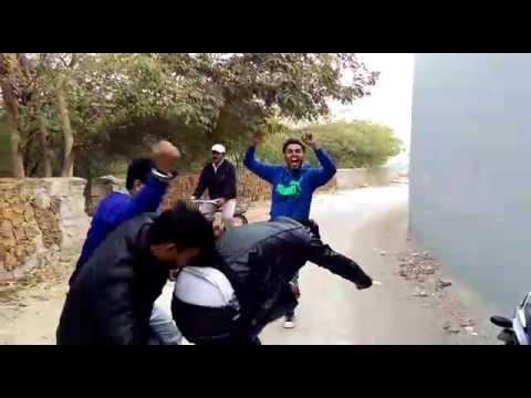 Moter cycle gai rahi na - full desi dance on haryanvi song
