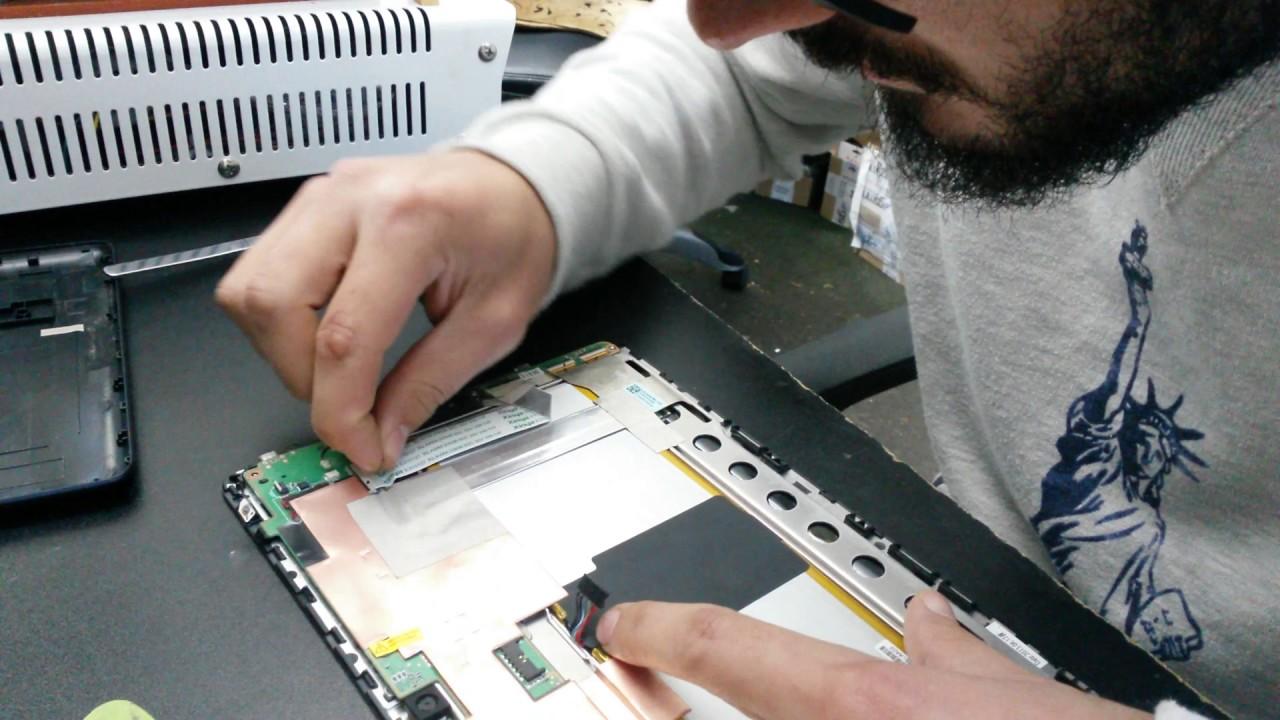 Asus Memo Pad FHD 10 me302c disassembly take apart teardown