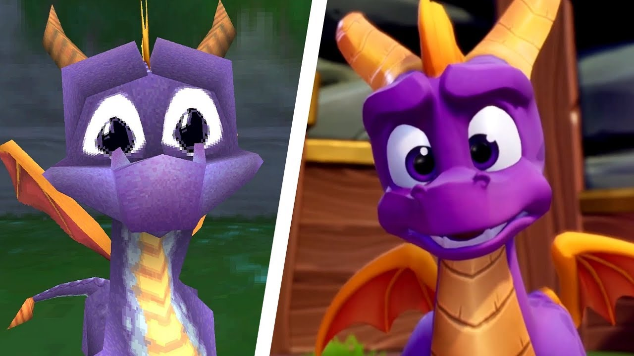Spyro Reignited Trilogy - All Intros Comparison (PS4 vs Original) - YouTube