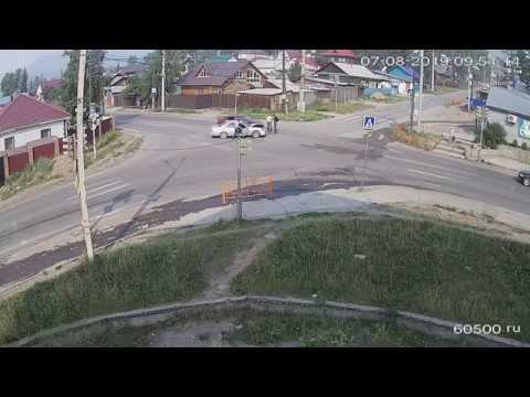 ДТП Халтурина-Дзержинского Усть-Кут 07.08.2019