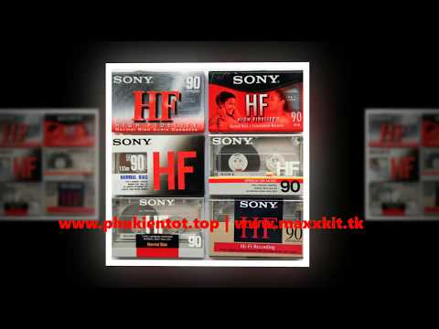 Băng Cassette Trắng Maxell UR. UE, UDI, UDII, Sony HF, EF, ZX Các Loại - Www.phukientot.top - Www.