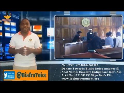 News Flash: IPOB Vs Nigeria In Court September Live Update.