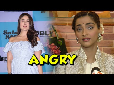 Sonam Kapoor ANGRY, SLAMS On DNA Journalist, Supports Kareena Kapoor