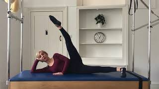 Pilates Mat - Side Legs - Part 2 - Advanced Level