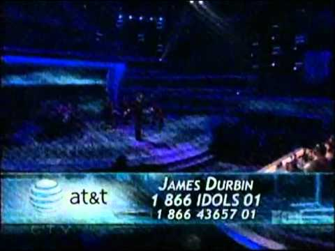 James Durbin - Without You (First Song) - Top 5 - American Idol 2011 - 05/04/11