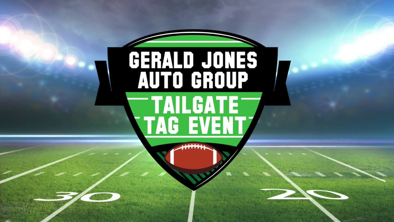 Gerald Jones Ford >> Gerald Jones Ford Tailgate Tag Event Youtube