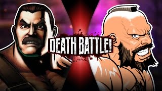 Haggar VS Zangief | DEATH BATTLE! | ScrewAttack!