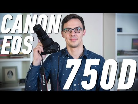 Canon EOS 750D: обзор фотоаппарата