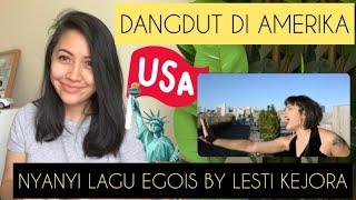 ORANG AMERIKA COVER LAGU EGOIS LESTI KEJORA | DANGDUT IN AMERICA | REACTION