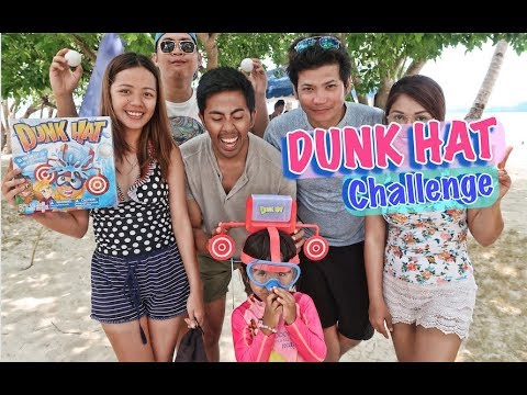 Dunk Hat Challenge with Kaycee, Rachel and the Gummy Boys