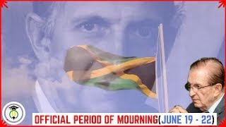 Edward Seaga gets FOUR-DAY period of mourning