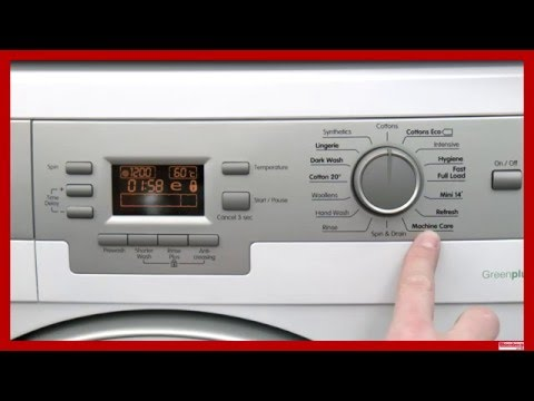 Blomberg Washing Machine Maintenence