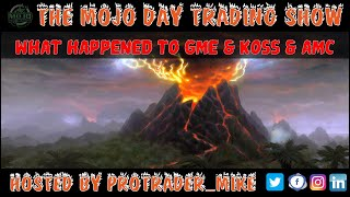 $GME $KOSS $AMC What Happened? 🤪 THE MOJO #DAYTRADING SHOW