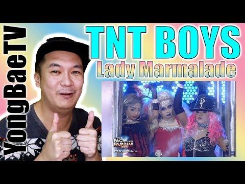 TNT Boys As Christina Aguilera, Pink And Mya | Lady Marmalade | Reaction | YongBaeTV