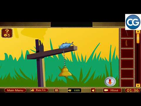 501 Free New Escape Games Level 449 - Escape The Girl From Mystery House - Complete Game