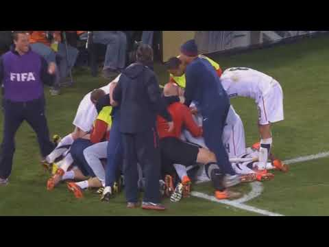 FIFA World cup 2010 Donovan emotional GOAL!   USA vs Algeria 1 0 HD 1080p