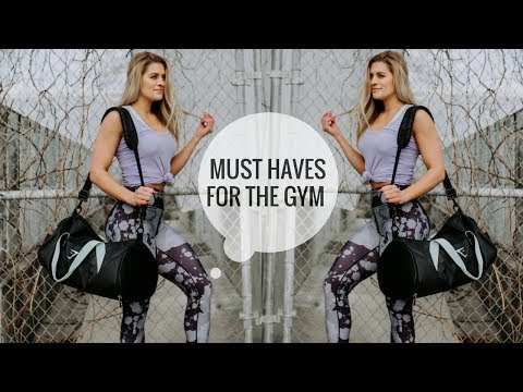 GYM BAG MUST HAVES | Updated