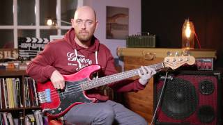 How to Get The James Jamerson Motown Bass Sound /// Scott's Bass Lessons