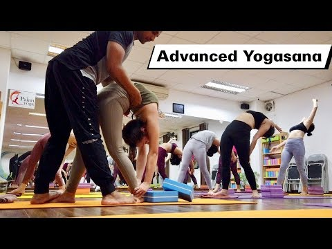 Advanced Yogasana Class Part-3 | Yoga For Advanced Flexibility | Yograja