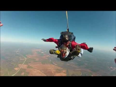 Julie McCoy's Skydive with SkyDive Louisiana