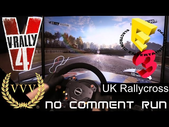 V-Rally 4 Gameplay E3 Demo Rallycross UK no comment run
